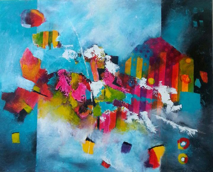 Chautagnat - sans-titre 1540  120 x 150cm